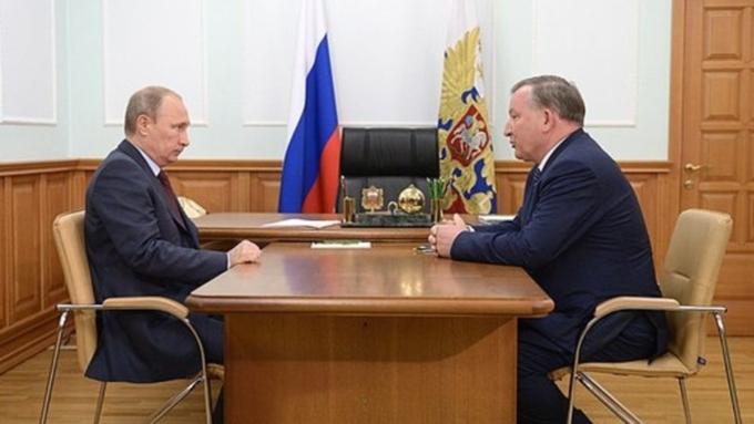Владимир Путин входе пресс-конференции: Алтай молодец!