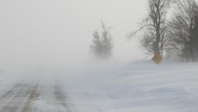 Штормовое предупреждение объявили вАлтайском крае на21 и22декабря
