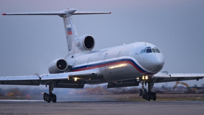 Peritos avaliam três causas para queda do Tu-154 no Mar Negro a caminho da Síria
