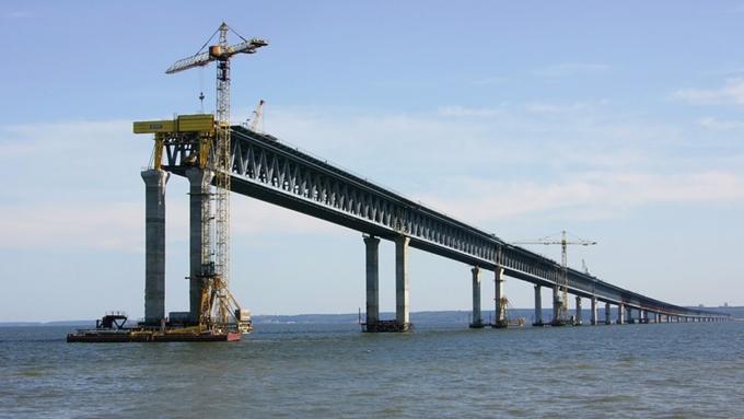Сроки создания ж/д подходов кКерченскому мосту остались прошлыми