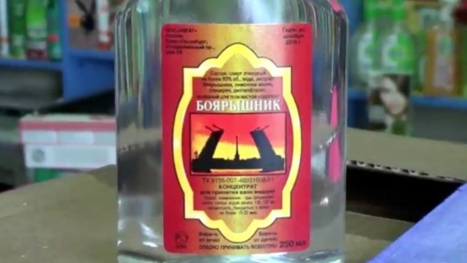 Натерритории Оренбургской области запрещена розничная продажа спиртосодержащей непищевой продукции