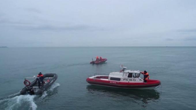 ВЧерном море отыскали многометровый обломок Ту-154