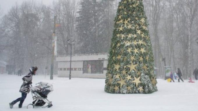 Штормовое предупреждение передано вАлтайском крае на2января