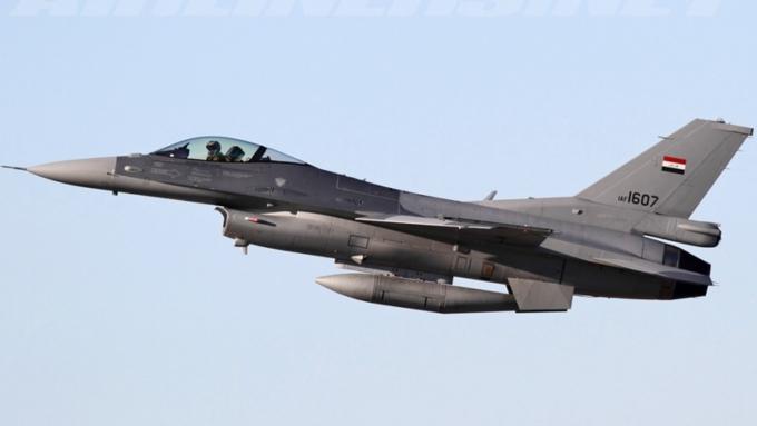 Самолёт ВВС Ирака потерпел крушение вблизи города Байджи
