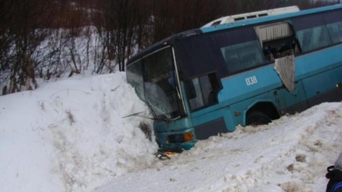 ВАлтайском крае вДТП с 2-мя автобусами погибли два человека