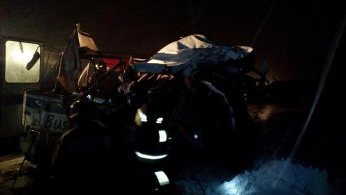 ВДТП с 2-мя автобусами вАлтайском крае пострадали 29 человек