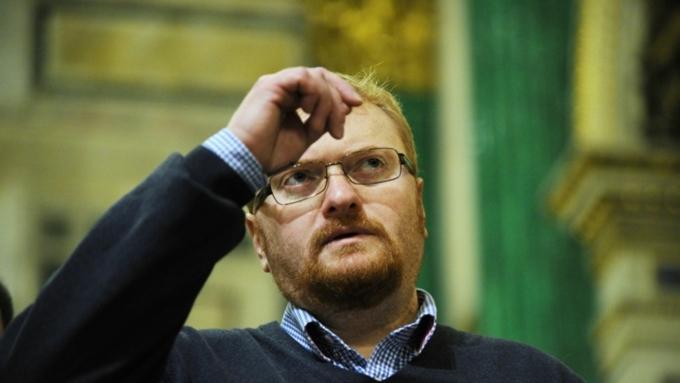 Милонов предложит подвергать наказанию заоскорбление государственной гордости