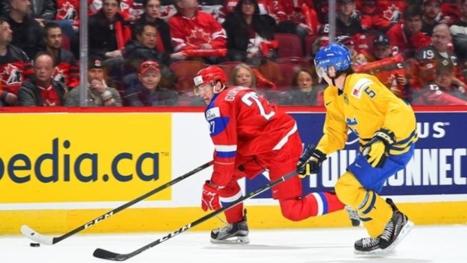 Молодежная сборная РФ завоевала бронзу чемпионата мира (U20)— Хоккей