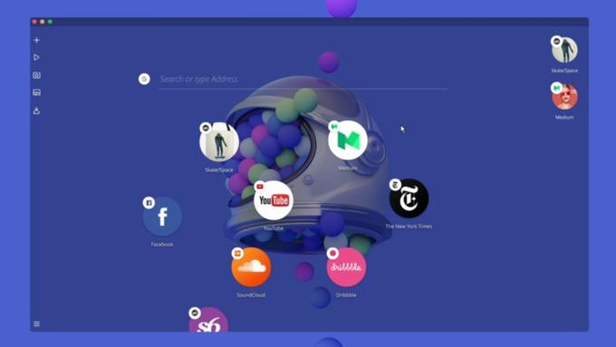 Известная компания представила свою концепцию браузера будущего