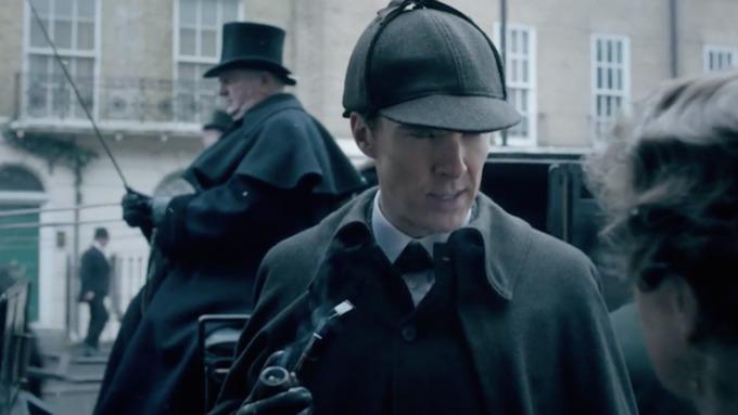 Первый канал объяснил утечку финальной серии «Шерлока» хакерской атакой