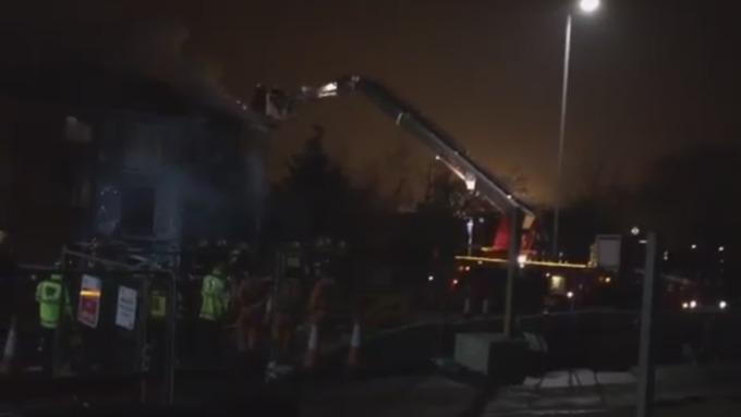 Вжилом комплексе восточной части Лондона произошел взрыв