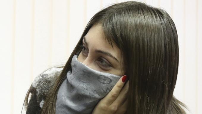 В столицеРФ занарушение ПДД полицейские задержали автомобиль Мары Багдасарян