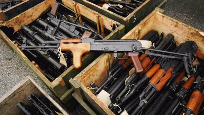 Торговля оружием вмире достигла максимума современ окончания холодной войны