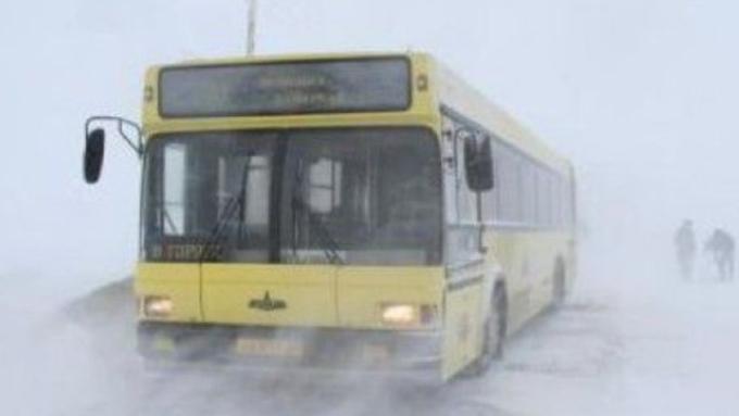 Около десятка дорог закрыли вАлтайском крае из-за непогоды