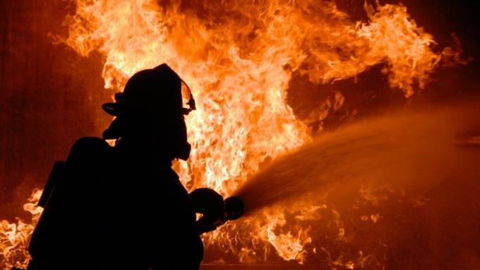 ВБарнауле воспламенился личный дом