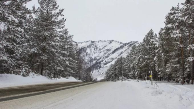 ВАлтайском крае иреспублике Алтай федеральные дороги готовят кпаводку