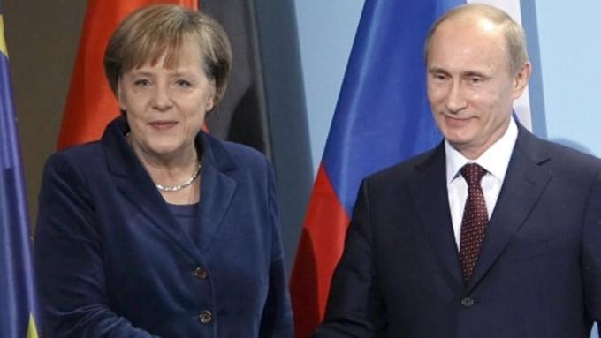 Путин ждет  приезда Меркель в Российскую Федерацию  2мая