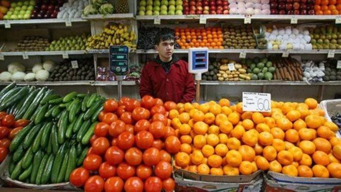 Цены вАлтайском крае всамом начале года увеличились на0,7%
