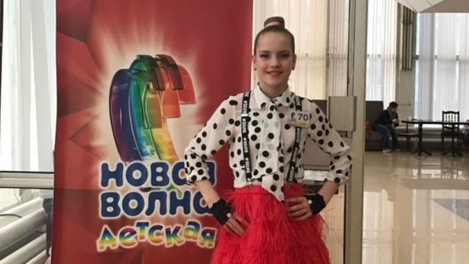 Молодая барнаульская эстрадная певица прошла вполуфинал конкурса «Новая волна»