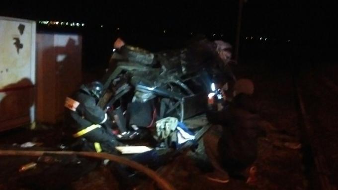 ВАрхангельске машина с10 подростками опрокинулась впроцессе погони ГИБДД