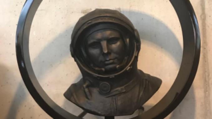 ВСловении открыли монумент космонавту Юрию Гагарину