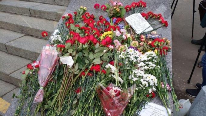 Ухудшилось состояние одного изпострадавших при взрыве вПетербурге