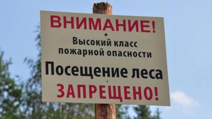 ВКотласском районе вводится особый противопожарный режим