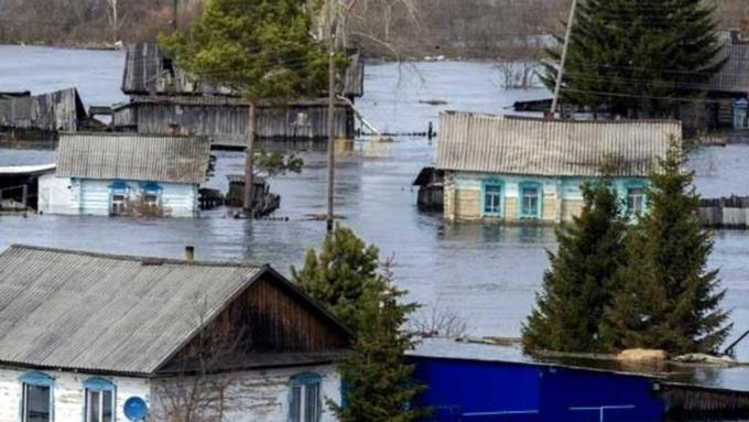 ВАлтае подтоплено 80 жилых домов