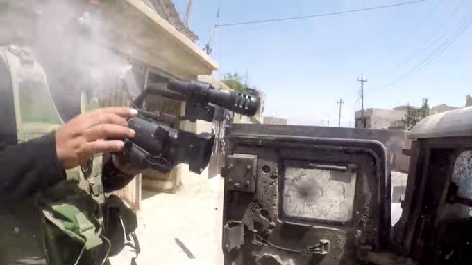Камера Go-Pro спасла жизнь корреспонденту вМосуле