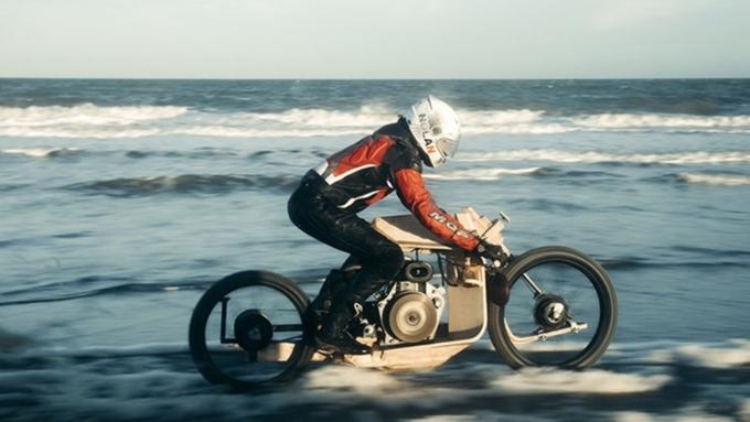 Создан работающий наводорослях мотоцикл— необычайное изобретение