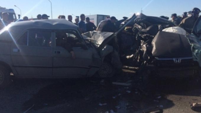 5 человек погибли вДТП под Барнаулом