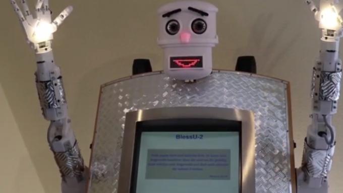 ВГермании появился робот-священник