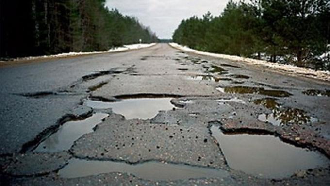 Украина оказалась вантирейтинге стран ссамыми чудовищными дорогами