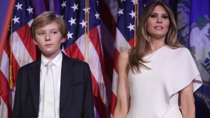 14июня супруга Трампа ссыном переедут вБелый дом