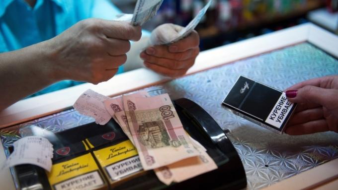 Расходы граждан России натабак увеличились вдвое