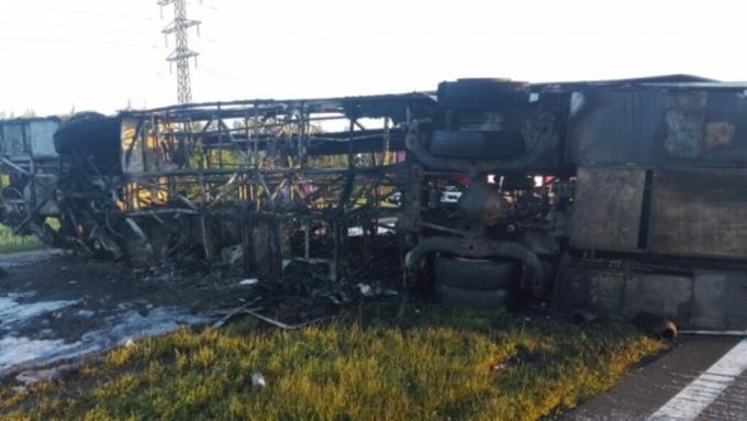 Владельца автобуса, попавшего вДТП вТатарстане, проверит Минтранс