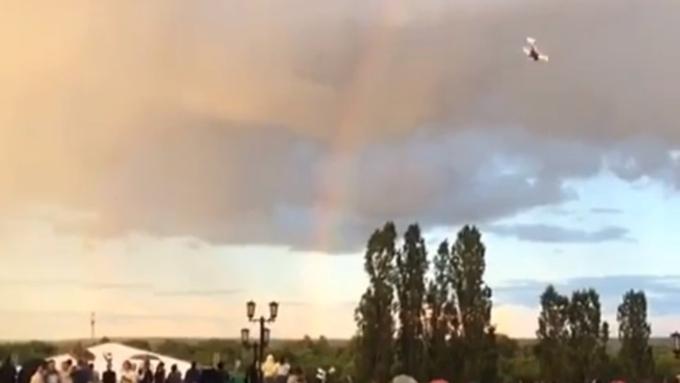 ВТамбове наавиашоу после «мертвой петли» упал самолет— Шокирующее видео