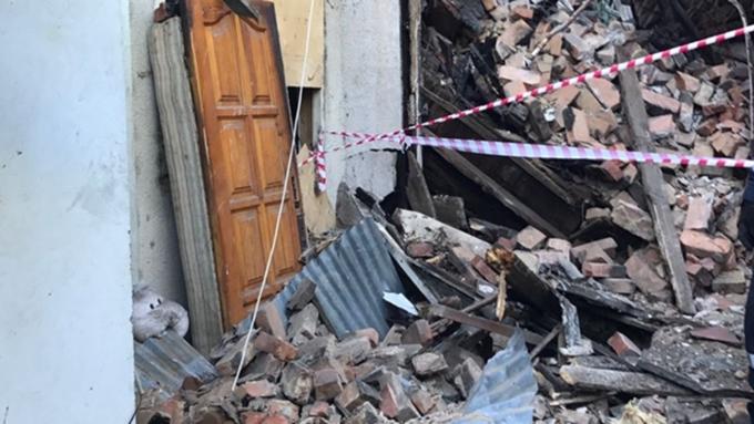Частично обрушившийся дом убил жительницу Сочи