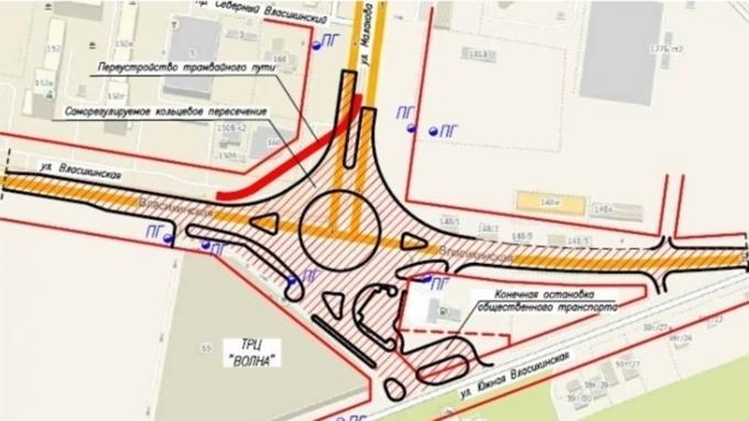 ВБарнауле началось строительство 3-го Малаховского кольца