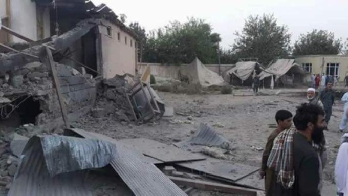 ВАфганистане при авиаударе коалиции пошколе пострадали трое детей