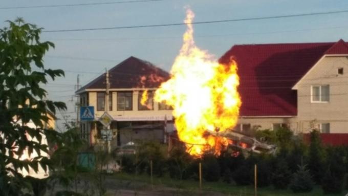 Неменее  2 тыс.  человек остались без газа из-за происшествия надороге  вБарнауле
