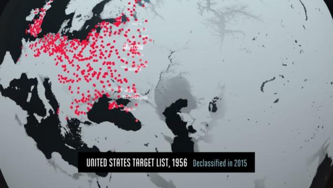Шокирующее видео масштабных последствий ядерной войны появилось винтернете