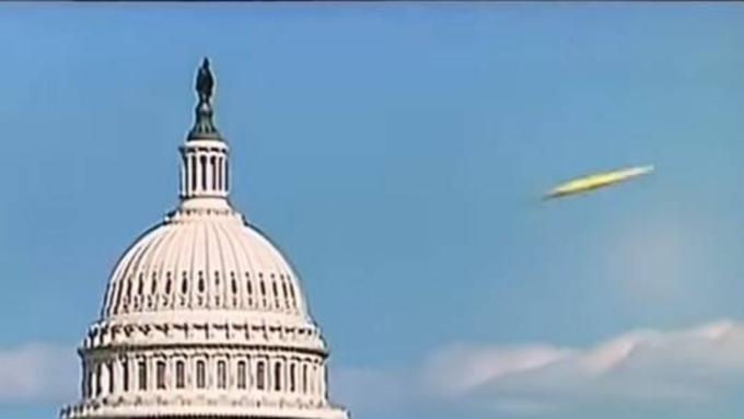 Камеры вСША засняли НЛО над Вашингтоном