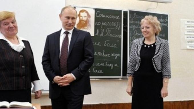 1сентября Путин проведёт открытый урок для школьников