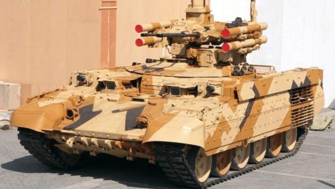 Сирия иИзраиль заинтересовались покупкой русских «Терминаторов»