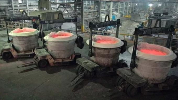 ВБратске накрупнейшем вмире алюминиевом заводе произошел энергосбой