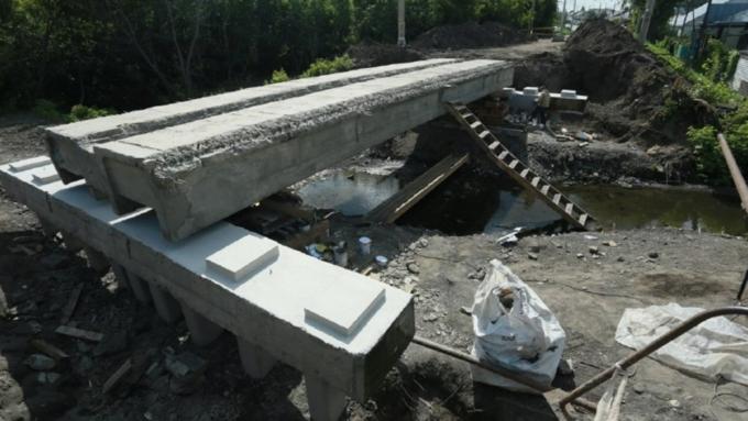 «Неторопливый» подрядчик продлил перекрытие улицы Матросова вБарнауле доконца октября