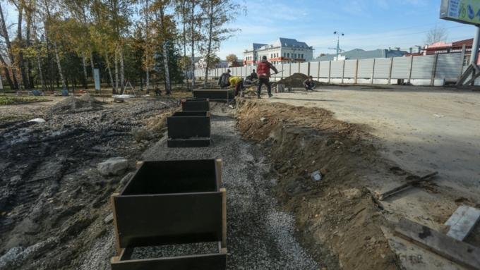 В основном парке Барнаула вконце осени установят новейшую ограду