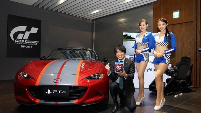 В эксклюзивное издание GT Sport вошел настоящий спортивный автомобиль