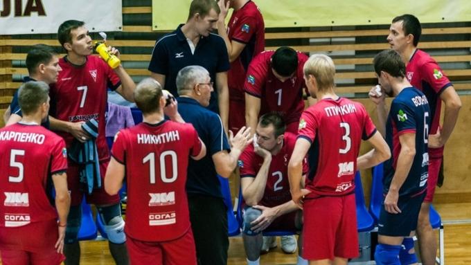 Волейбольный клуб «Дагестан» победил вгостях барнаульский «Университет»